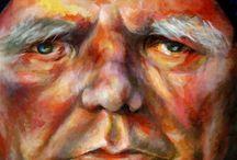 Portrait Paintings:  College Level