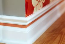 painting, baseboard, molding / by Debra Nelson