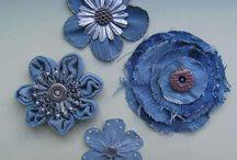 flores  de jeans