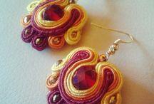 daisy gioielli  / handmade jewelry soutache