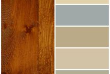 Paint colours and wood