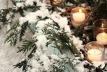 Outdoor Christmas  lighting ideas / by Lucy Hemiller
