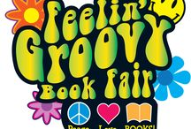 Peace, Love, Books Decor / Our school is looking ahead to our Spring Scholastic book fair, and we're looking for great decoration ideas that fit the groovy theme!  Feel free to share or use the ideas on this board!