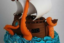 pirate party and cake