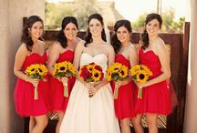sunflowers & wedding