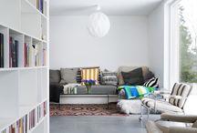 Ideoita kotiin / Sisustusideat kotiin, olohuoneet, lattiat, tapetit, DIY jne.