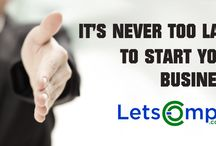 Business start-up strategies / Letscomply helps you to start your business