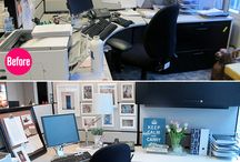 Office cubes / Organizing at the office