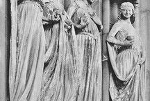 Frauenkleidung im 13. Jahrhundert