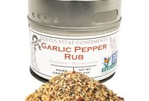 Garlic Pepper Rub Inspiration / Calling all garlic lovers! Apply this seasoning to any of these dishes for a burst of garlic and a kick of flavor!