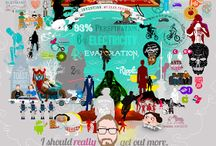 I should really get out more... / Illustrations I've created from my blogfolio at www.waynedorrington.co.uk