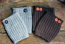 Knitting - Boot Cuffs