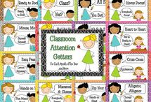 Attention Getters for the Classroom