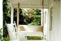 Backyard/Decks/Porches/Pools/Garages / by lauren tanner