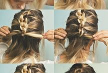 braids & hair color