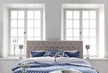 Blå sovrum
