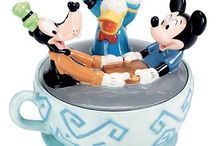 Disney Cookie Jars + Tea Pots / by Kelly