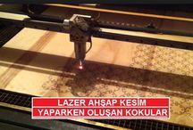 Lazer Makinesi Koku ve Duman Tutucu Filtre Sistemi