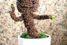 Crochet Groot