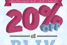 12 Days of Blikmas Promotion / 12 days of giveaways