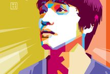 Wedha's Pop Art Portrait / Wedha's Pop Art Portrait (WPAP) a Pop Art from Indonesia