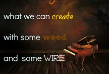 Piano Quotes / Some great quotes about music and pianos.