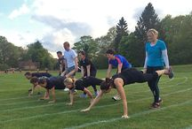 Godalming Surrey Fitness Camps / Photos from our hugely popular outdoor group fitness Boot Camp session in Godalming! 7 sessions a week in Holloway Hill Recreation Ground (Busbridge) and at Priors Field School!