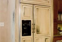 Lednice ve skříni