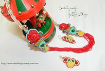 Soutache jewelry by Zena Design