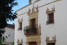 Palacio Sirvente de Mieres / Edificio del S. XVI-XVIII en Andújar (Jaén) rehabilitado y reconvertido en un edificio con 4 estudios y 4 apartamentos turísticos de distinta capacidad desde 1 a 7 personas.