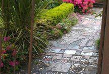Gartenweg Mosaik