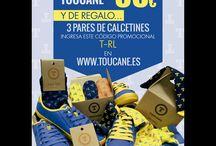 Promoción Marzo Toucane / Promoción Marzo - ULTIMOS DIAS - Zapatillas únicas y con estilo. No te quedes sin ellas. Zapatillas #Toucane por 35€ Y de regalo 3 pares de #Calcetines con el código T-RL #sneakers #UnicsCadmium #UPV #ColourSneakers #ElCaloret #YaEstemEnFalles #CaloretStyle #UPV