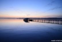 Sonnenaufgang in Kiel / Der frühe Vogel usw. ...man geht die Sonne früh auf ^^