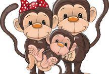 обезьянки и др.