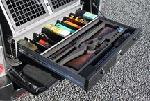 Secure Storage Units / A range of Secure Storage Units to safely transport shotguns, ammunition, shooting accessorees; photographic equipment; valuables.