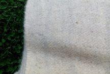 100% hand spun wool fabric undyed!!!