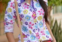 blusas casuales