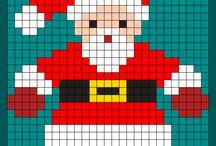Pixel Art de Noël