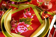 Party Tablescapes / by Vicki Arnold (Victoria's Traveling Tea Party)