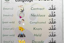 Arabisch Wörter