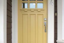 Shut the front door!! / COLOR ideas for doors