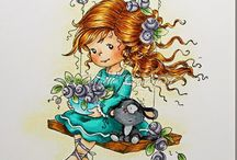 JACEY STEPHENS/ Whimsey stamps