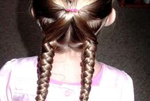 little girl hairstyles / by Suzanne Van Dyke