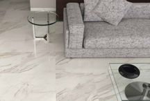 Wintery White Tiles / A look at the icy, cold and glacial tiles of the 2014/15 season, ranging from chic glossy giant tiles, to curious relief tiles and more.