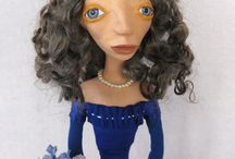 Art dolls and puppets / by Susan Churchill