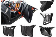 Polaris RZR Door Buyers Guide / Complete guide to the best Polaris RZR Doors available from brands such as Pro Armor, Dragon Fire Racing, Blingstar and more.