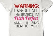 Pitch perfect / They're back pitches