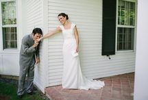 first looks..or not / by St. Augustine Weddings & Special Events