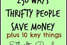 Thrift....Save