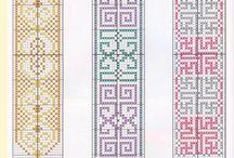 PUNT DE LLIBRE / Punts de llibre de punt de creu, ganxet i altres
